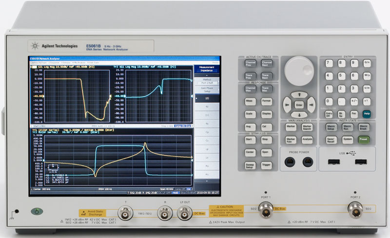 Agilent Network Analyzer : E b datasheet the agilent is a member of