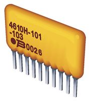 SIP 2/% ISO RES N//W 3 4.7KOHM 5 pieces BOURNS 4606X-102-472LF RESISTOR