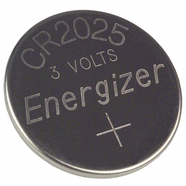 Cr2025 Datasheet Specifications Battery Cell Size Coin