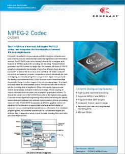 Conexant broadcast decoder cx23880