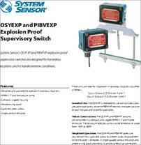 Osyexp Datasheet Explosion Proof Supervisory Switch