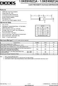 10 pieces Transient Voltage Suppressors 5V 350mW TVS Diodes