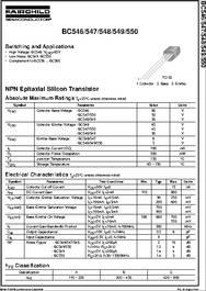 Bc558 datasheet