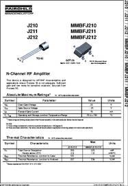 MMBFJ270 FAIRCHILD IC Switch P-Channel SOT-23 J-Fet Transistor 50 PIECES