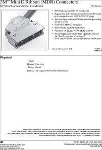 10368 C500 00 Datasheet Specifications Series 103