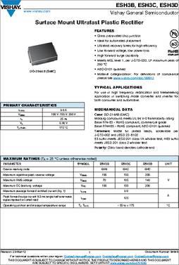 VISHAY GENERAL SEMICONDUCTOR SMCJ51CA-E3//57T TVS DIODE 51V DO-214AB 5 pieces 1.5KW