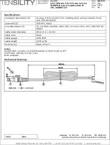 IDC CABLE Pack of 25 ASR20B//AE20G//ASR20B A3BBB-2018G