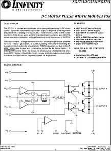 Sg3731 datasheet dc motor pulse width modulator for 3v dc motor datasheet