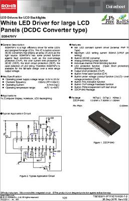 40 150KHZ SSOP Rohm Driver LED BD9479FV-GE2