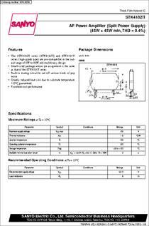 Stk4182ii Datasheet