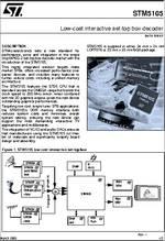Sti5100-stdvb (stmicroelectronics) pdf技术资料下载sti5100-stdvb.