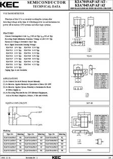 Kia7045 Datasheet Bipolar Linear Integrated Circuit