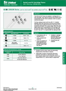2672dd1d4 0230.250HXSP datasheet - Specifications  Manufacturer  Littelfuse ...