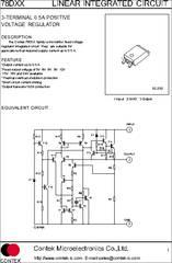 78d05 Datasheet Linear Integrated Circuit 3 Terminal 0