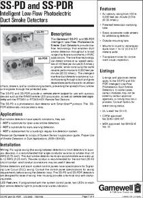 duct smoke detector installation instructions