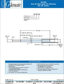 glenair backshell assembly instructions