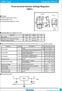 Zener Diode 78M12 datasheet - Thre...