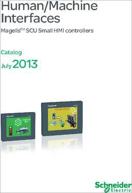 HMIS65 3 5in Screen Module, Magelis Controller
