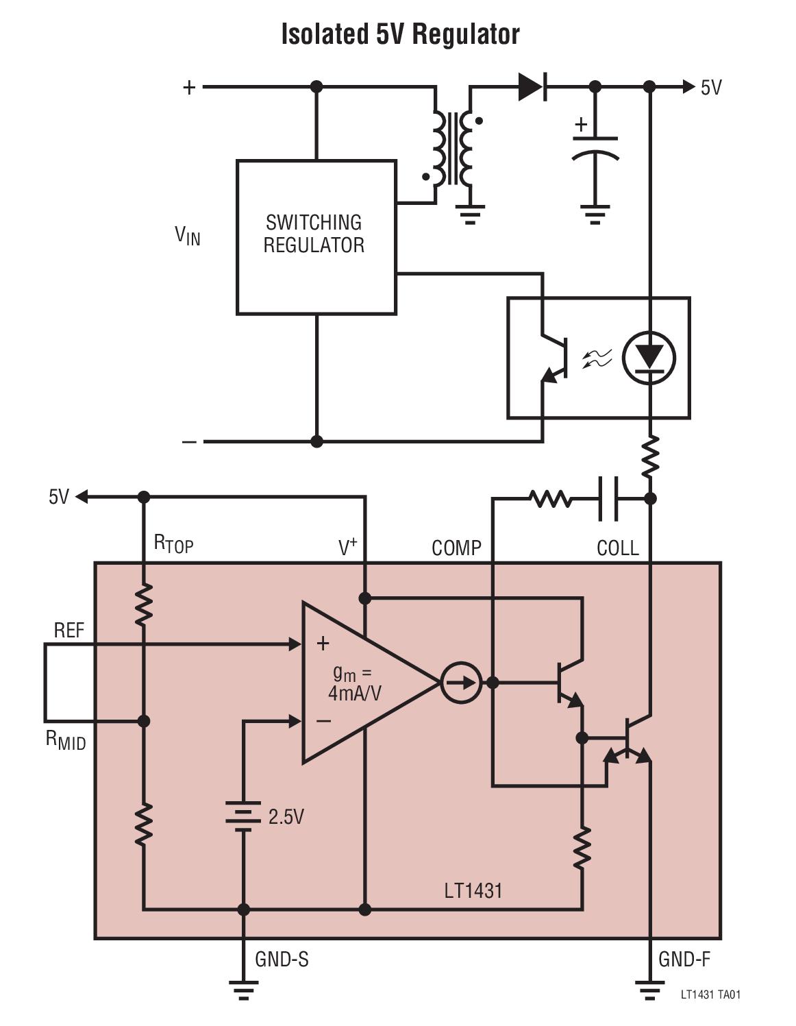 Lt1431 Datasheet The Is An Adjustable Shunt Voltage Regulator Monolithic Synchronous Stepdown Dc Converter Linear Technology Photo