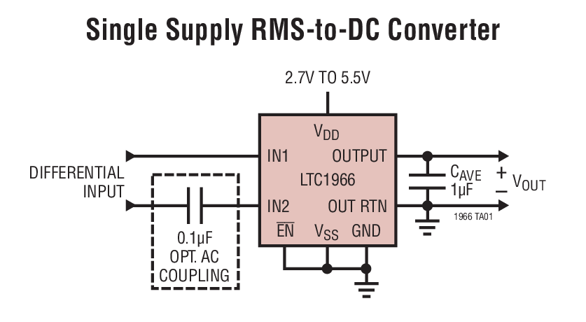 ltc1966 datasheet - the ltc®1966 is a true rms-to-dc ... wiring diagram of chevy 2008 2500 see wiring diagram of true rms circuit #15