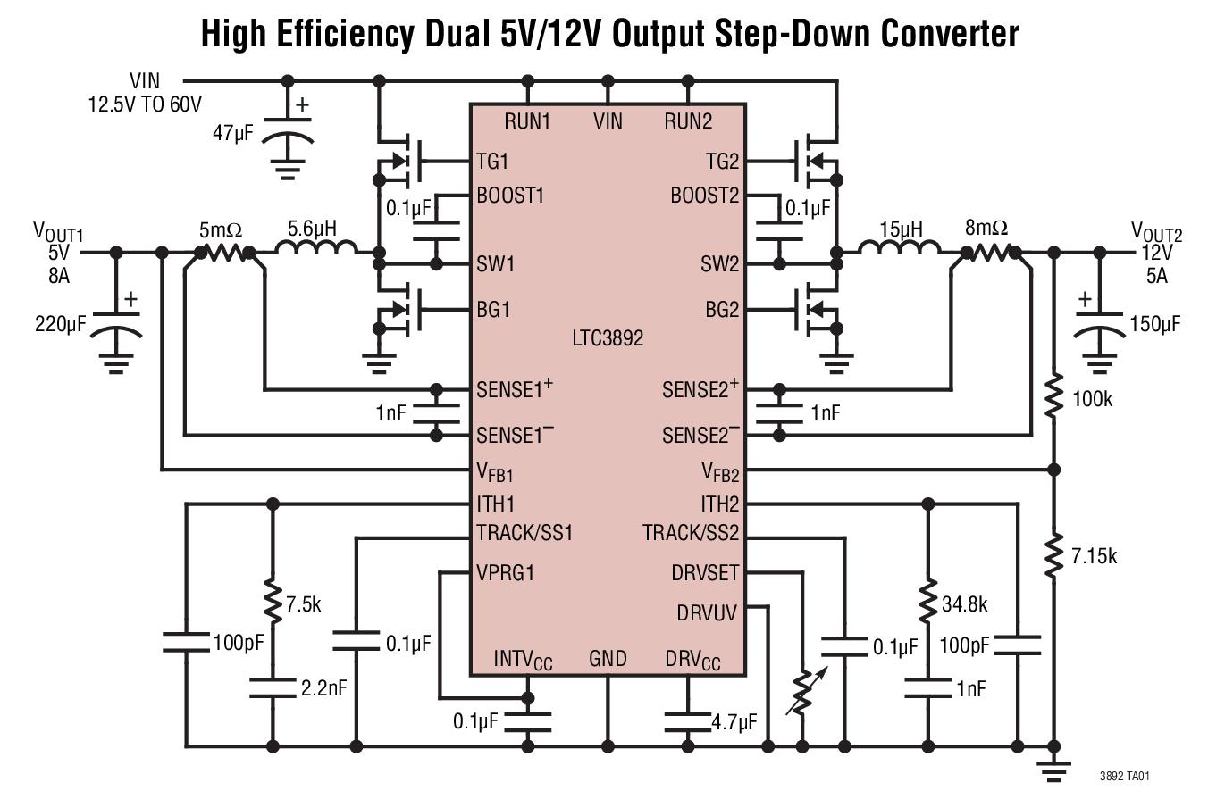 Linear Technology LTC3400ES6#TRMPBF Step Up DC-DC Converter Adjustable 6-Pin