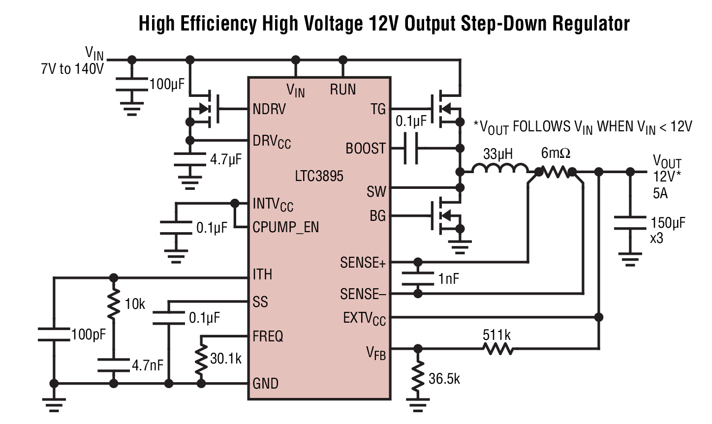 Ltc3895 Datasheet The Is A High Performance Step Down Battery Overvoltage Protection Ic Photo