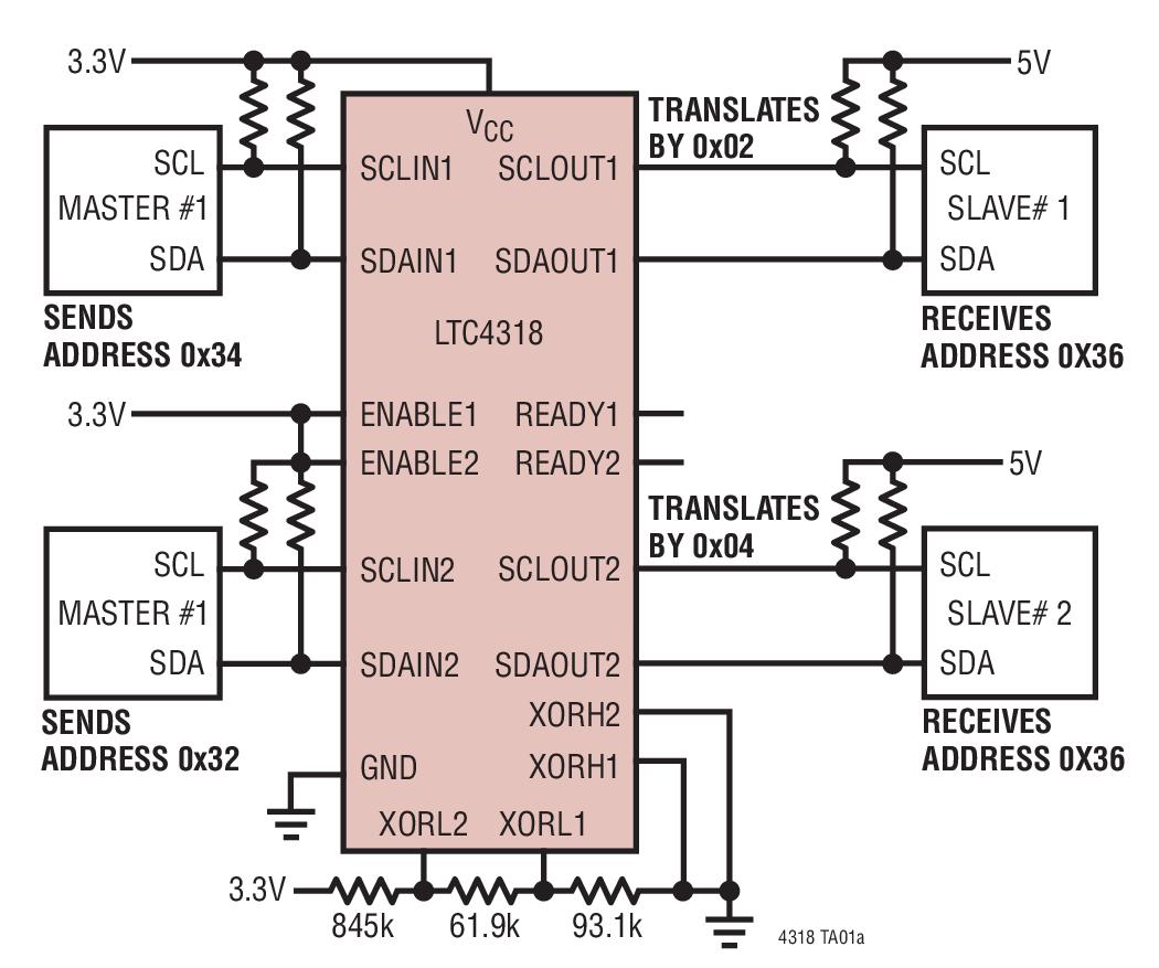 LTC4318 datasheet - The LTC®4318 enables the hardwired