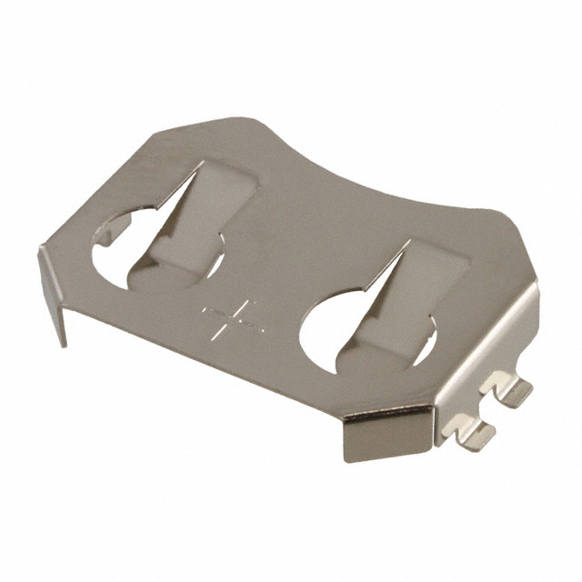 Battery Contact Clip SMD for CR2032 Coin Cell battery Pack of 5