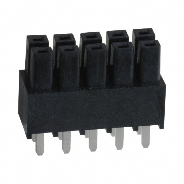 Board-To-Board Connector TSW-105-12-S-D-RA Pack of 20 10 Contacts 2.54 mm Right Angle TSW Series Through Hole, Header