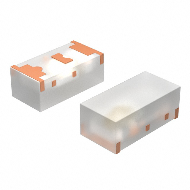 Pack of 100 TLHR4400 TLHR4400 Vishay Semiconductor Opto Division Optoelectronics