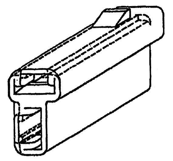 1 piece Automotive Connectors 2P FM BLK CON ASSY 480 SERIES 42 AMPS
