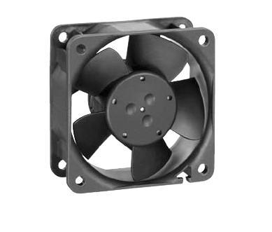 EBM-PAPST 8414NGML DC Fans Size=80x80x25 mm m CFM=27 VDC=24