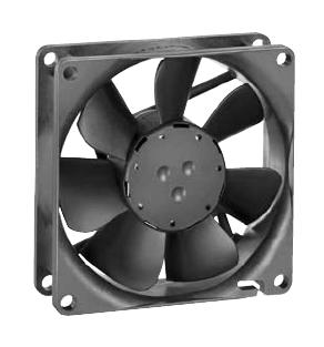Delta FFB0812VH-T500 DC Fans 80x80x25mm 12V DC Fan with IP55 Dust Resistant and Protected Against Water Jets