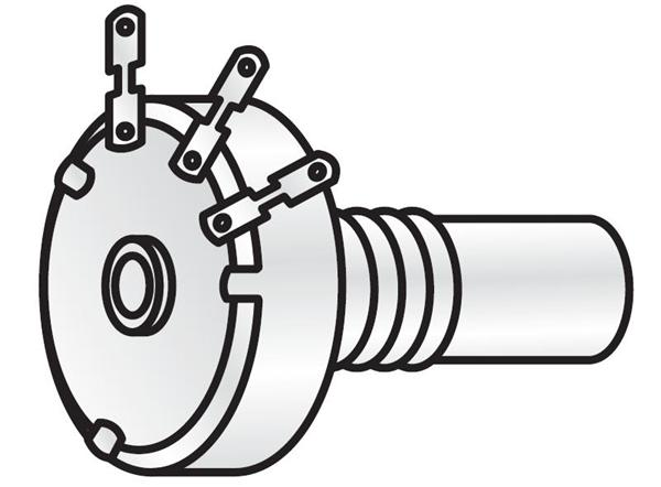 Dual Potentiometer 500 Ohm
