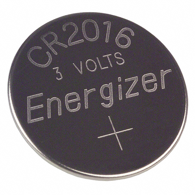 Cr2016 Datasheet Specifications Battery Cell Size Coin