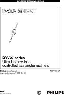 Datasheet) byv27-150 pdf byv27-50, byv27-100, byv27-150, byv27.