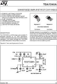 TDA7240 PDF