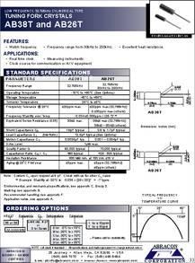 18PF 10MHZ ABRACON ABLS-10.000MHZ-B2-T CRYSTAL SMD 100 pieces