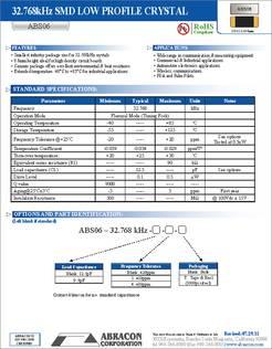 7 X 5MM 10 pieces ABRACON ASV-16.000MHZ-EJ-T OSCILLATOR 16MHZ HCMOS