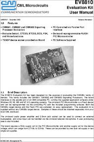 Integrated Circuit FX107 SELECTIVE SIGNALLING DEVICE