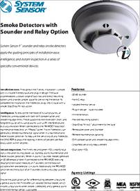 4wtar B Datasheet Smoke Detectors With Sounder And Relay