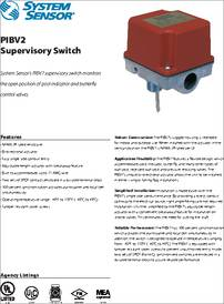 Pibv2 Datasheet Supervisory Switch