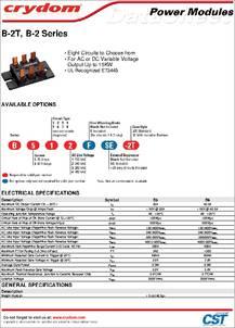 Details about  /Crydom B512F Thyristor Power Module
