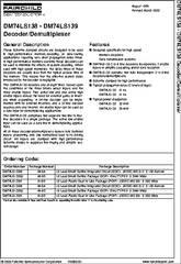 74138 Datasheet Decoderdemultiplexer