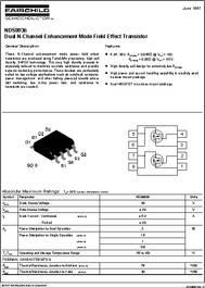 Dual P-Channel Enhancement Mode Field Effect Transistor,Fairchild,NDS9953A,20 Pc