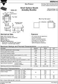 Datasheet) mbr0540 pdf jiangsu changjiang electronics technology.