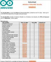 K000004 datasheet - Arduino TinkerKit Development Kits include the Base