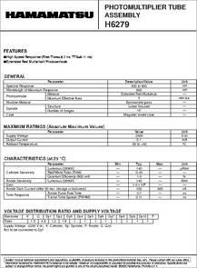 H6279 datasheet -