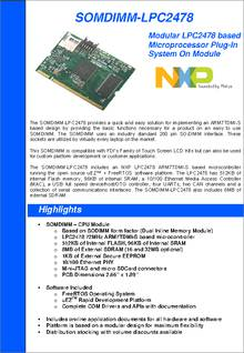 Dk-57ts-lpc2478 datasheet specifications: sensor type: touch.