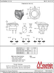 one way light, off rocker, led rocker, on r13 135 switch wiring diagram